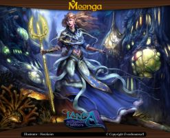 Moonga - Mylena, Queen of the Kingdom of Waters by moonga