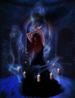 Dancing Incantation by felina222