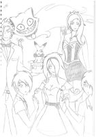 Been in Wonderland too long - Sketch by Kitty-Kat-23