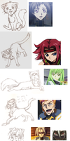Lots of Code Geass cats by Frostpebble
