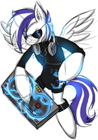 Commission - Dj Brony by xNIR0x
