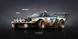 Lancia Stratos on Steroids Inbound racer by yasiddesign
