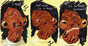 Admiral Ackbar by sobad-jee