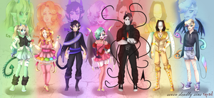 YT/Seven Deadly Sins squad by SepticMelon