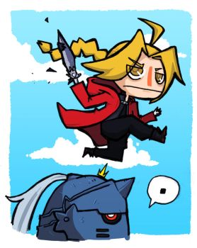 Elric combo by Mensieur-A