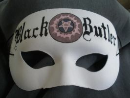 Black Butler Mask by 42believer