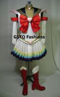 Super Sailor Moon Front by gstqfashions