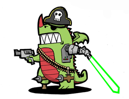 Piratenrobotactiestarwarsdraak by Jwpepr