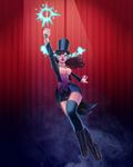 Zatanna, the mistress of magic by animatorlu