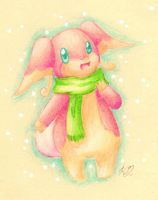 Day 1: Audino by KGScribbles