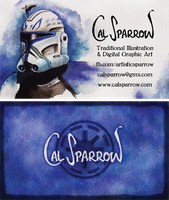 SW business card by CalSparrow