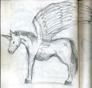 Unisus or Pegacorn