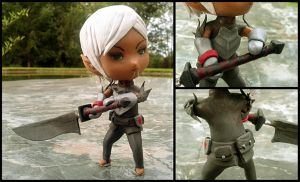 Dragon Age 2: Fenris + Blade of the Archon by liadys