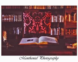 Historical library by LucreciaMortishia