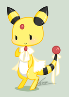 Lady Ampharos by Valiphor