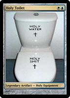 Holy Toilet by Eruner