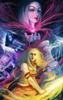 Swords and Sorcery by meluseena