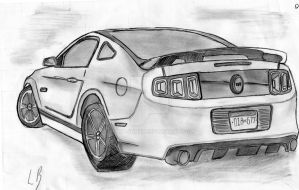 Ford Mustang GT 2013 by Ruku-kun97