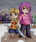 Mother and Lucas by Lady-of-Link