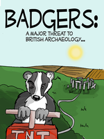 Badgers by HerbalJabbage