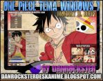 Monkey D. Luffy Theme Windows 7 by Danrockster