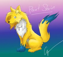 Paint Stain by MasterGunyer