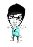 karikatur me by superddy