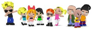 Cartoon Cartoons Buddypoke by Ben2DJammin