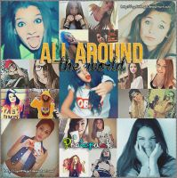 All around the world (Photopack) {Girls} by CynLittleGirl