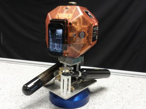Prototype Robot With Smartphone Mapping by astrobiology12