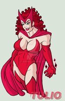 DSC Scarlet Witch by TULIO19mx