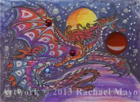 ACEO Dragon 23 by rachaelm5