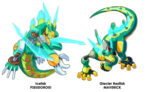 Icelisk and Glacier Basilisk Comparison by ultimatemaverickx