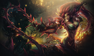 League of Legends Zyra by Rosie-0509