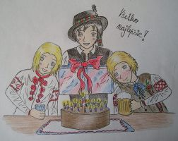 West Slavs wish you Happy Birthday! (for blcha128) by Veronica-for-Cuba