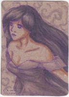 Of the Purple Wind - ACEO by XKimmaiX