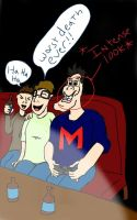 markiplier intense look with bob and wade by killersandwich09