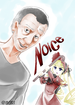 Michael Rosen and the Maiden by LunarDances