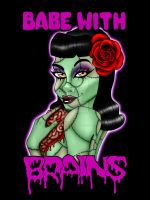 Rockabilly Zombie Girl 3 by Sanguinarian-Craving