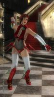 DEAD OR ALIVE 5 Last Round Mila33 by aponyan