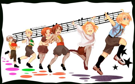 hetalia kids by coriado