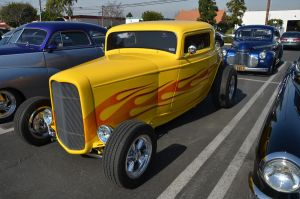 Yellow hot rod by saxartist05