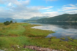 Ballachulish Shore in the Morning by AgiVega