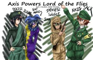 Axis Powers LOTF Colored by Eljiasan