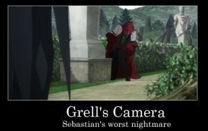 Grell and his Camera by Frizz-Storyteller