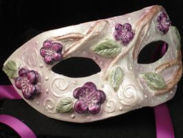 Little Lady Hydrangea Mask by EffigyMasks