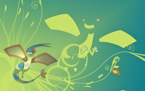 Shiny Flygon Wallpaper by Zulo317