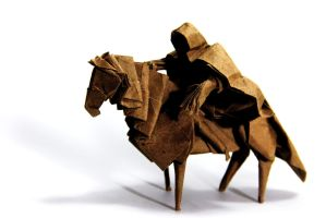 Origami Nazgul by KennyQuan