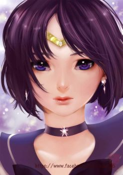 Sailor Saturn. by Archie-The-RedCat