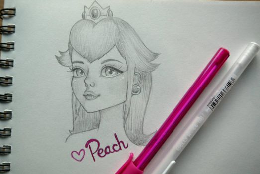 my girl, peach by sylvelora